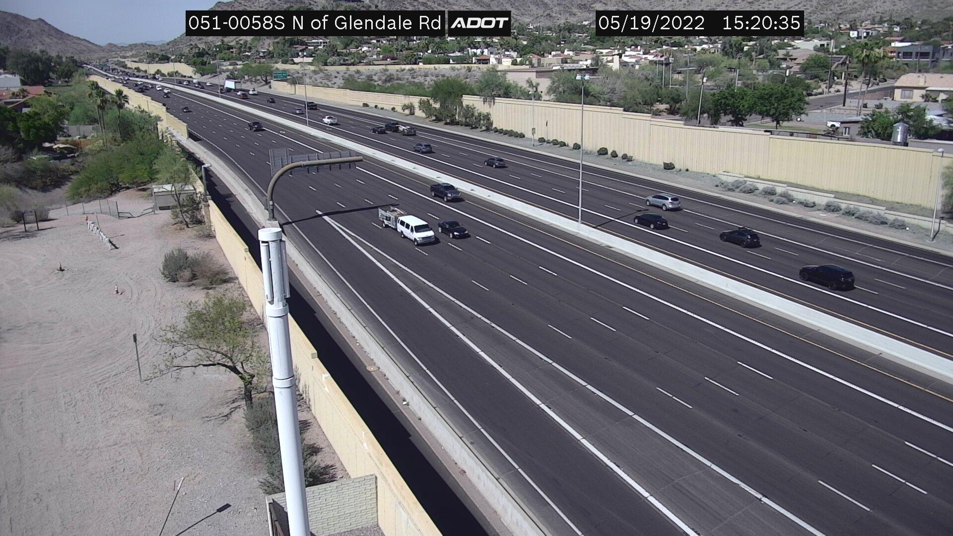 N of Glendale SB (SR51) (081) - Phoenix and Arizona