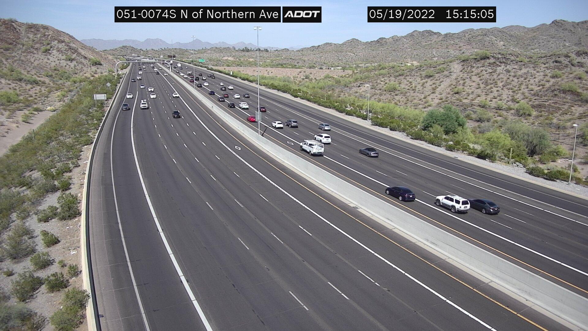 N of Northern SB (SR51) (083) - Phoenix and Arizona