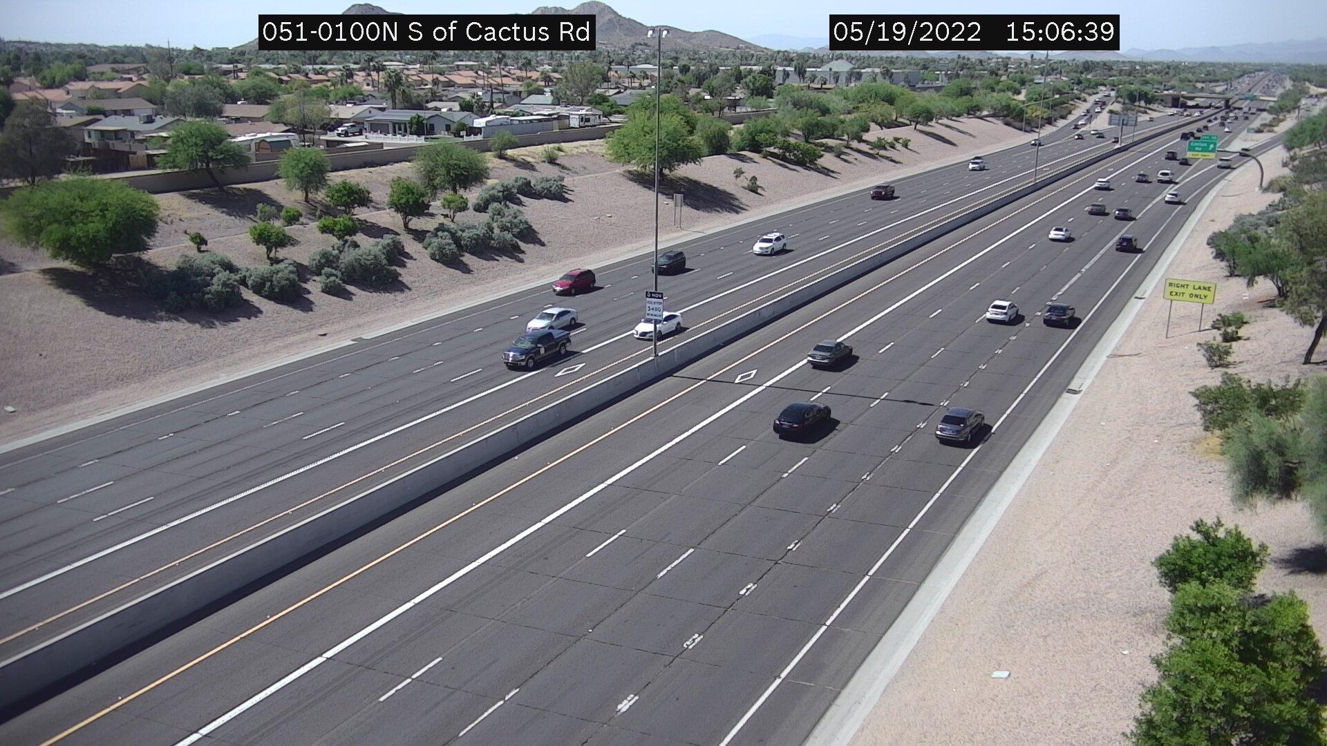 S of Cactus NB (SR51) (086) - Phoenix and Arizona