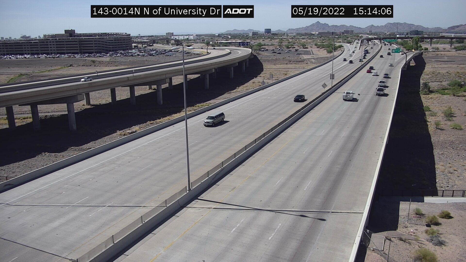 N of University NB (SR143) (096) - Phoenix and Arizona