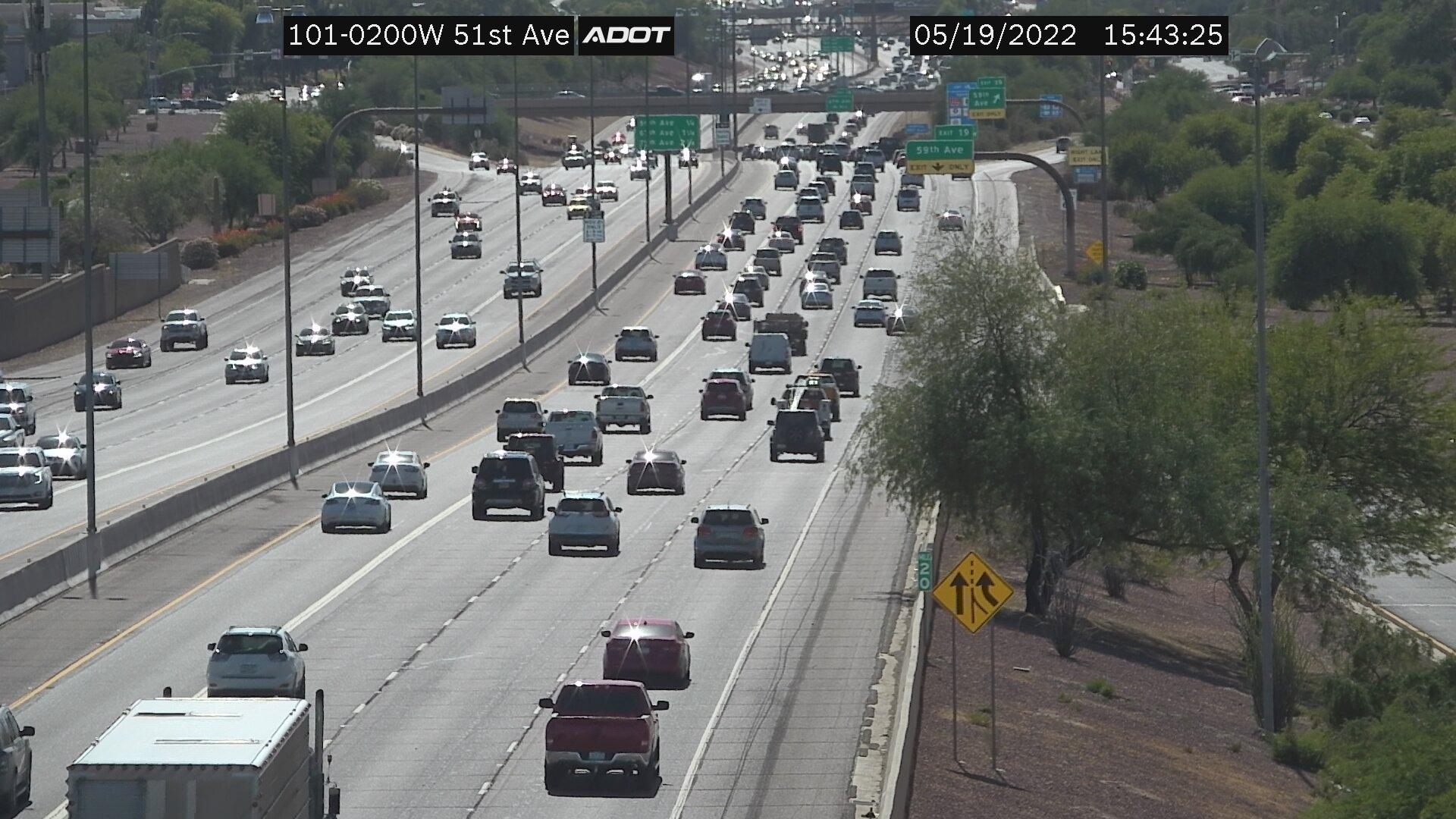 51st Av WB (L101) (113) - Phoenix and Arizona