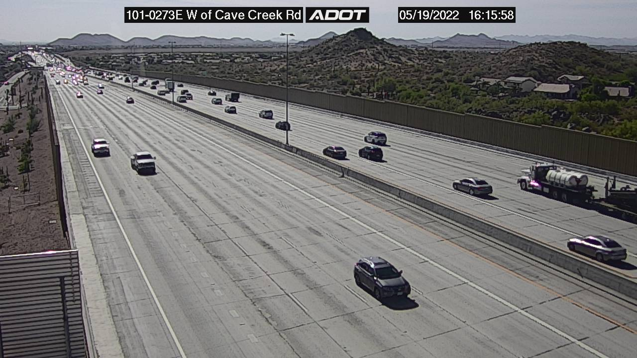 L101 EB E of 16th St. EB (L101) (119) - Phoenix and Arizona