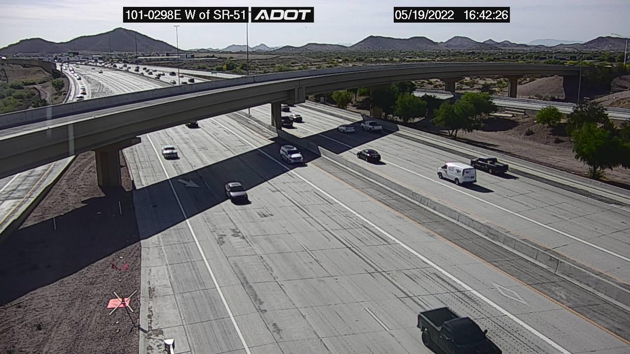 L101 EB W of SR51 EB (L101) (121) - Phoenix and Arizona