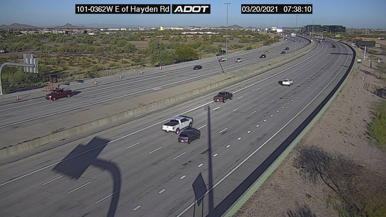 L101 WB E of Hayden WB (L101) (128) - Phoenix and Arizona