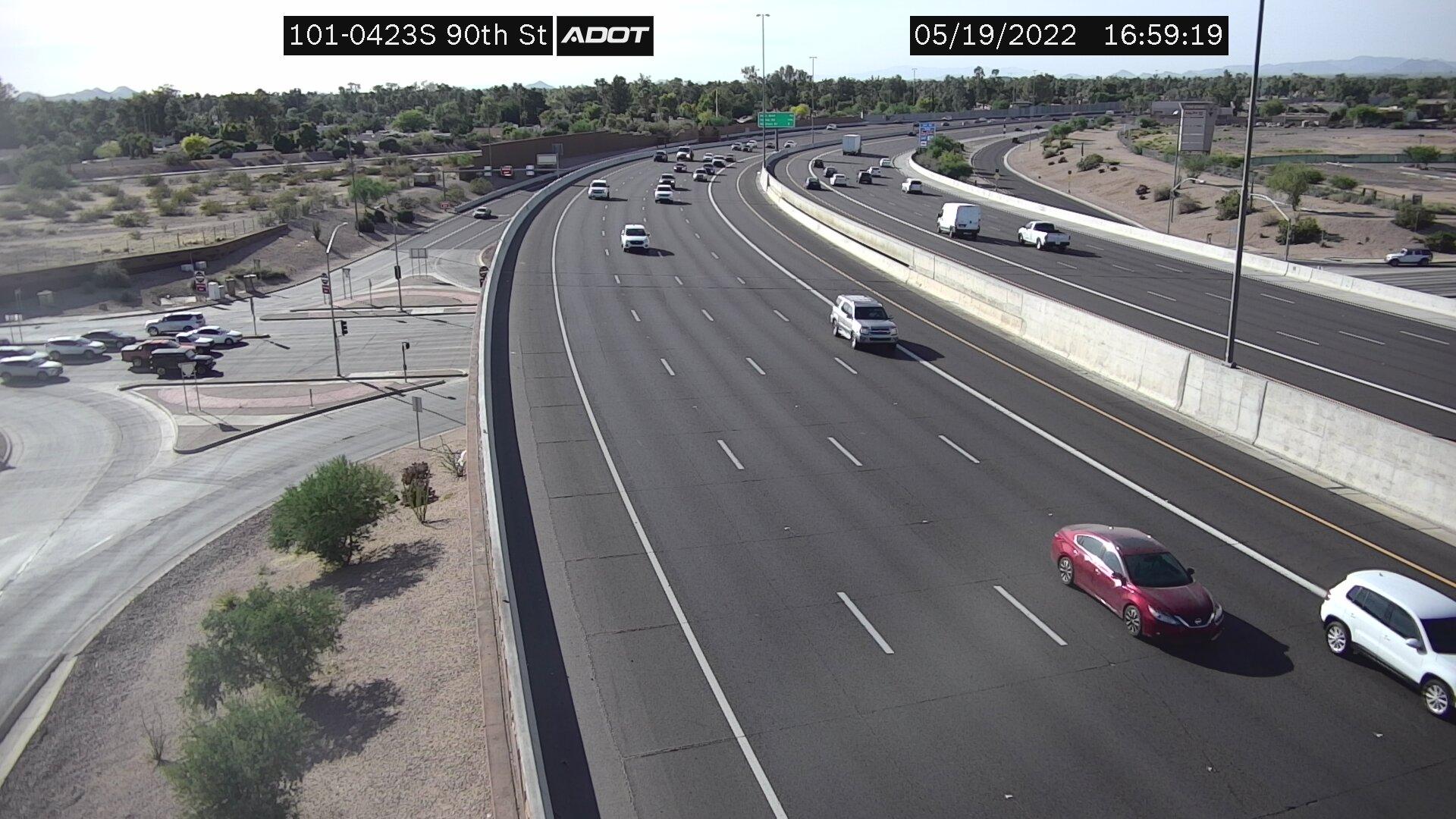 90th St SB (L101) (136) - Phoenix and Arizona