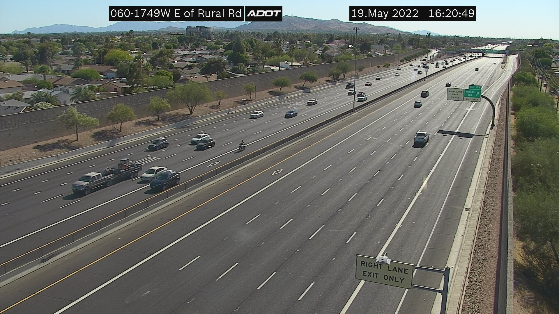 E of Rural WB (US60) (173) - Phoenix and Arizona