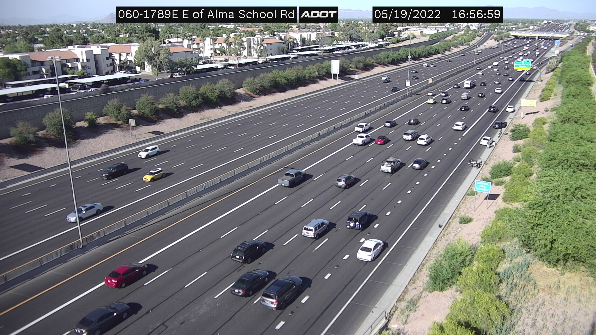 E of Alma School EB (US60) (178) - Phoenix and Arizona