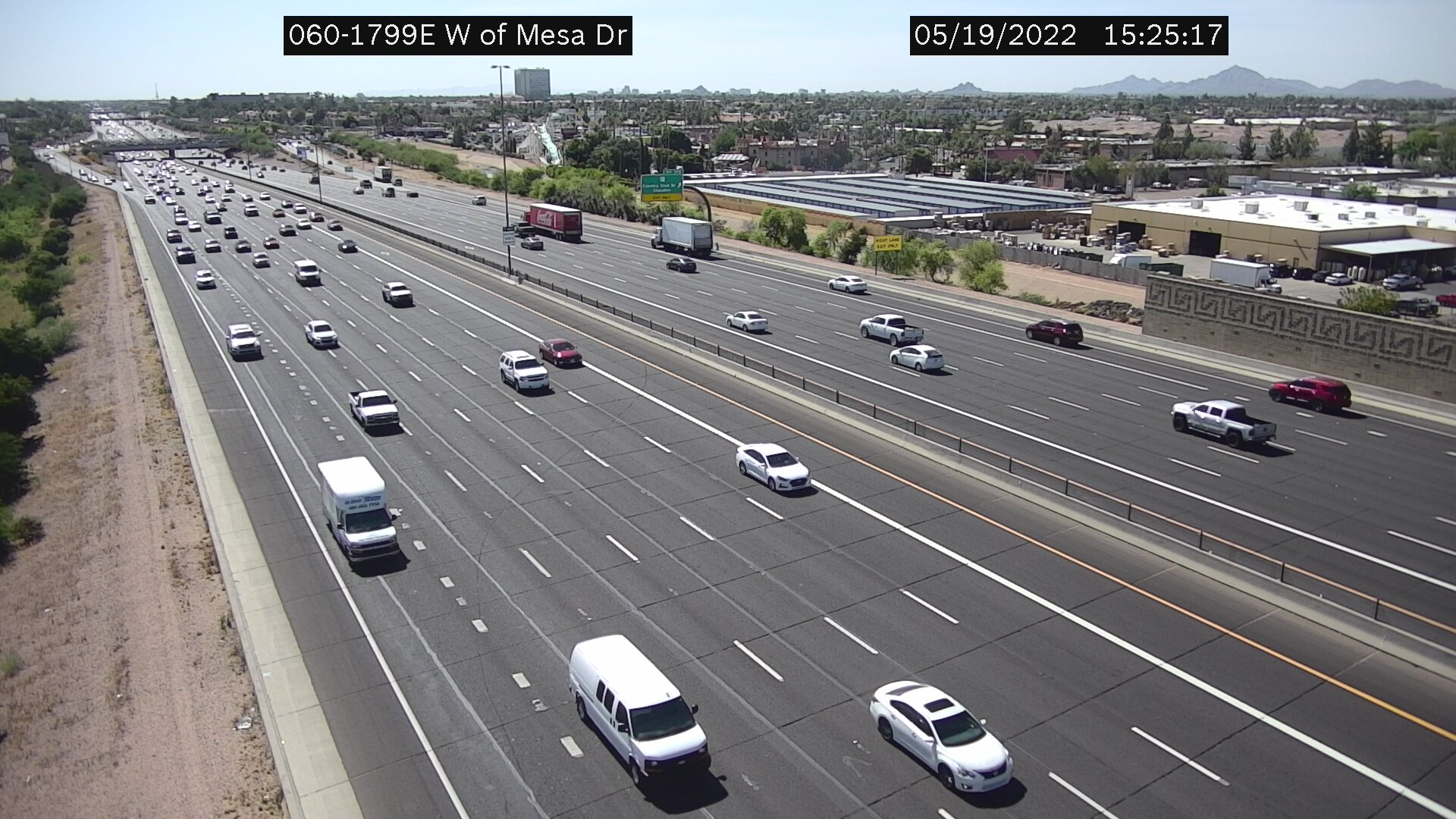 E of Country Club WB (US60) (180) - Phoenix and Arizona