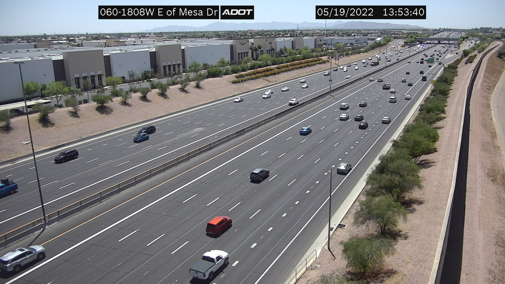 E of Mesa WB (US60) (181) - Phoenix and Arizona
