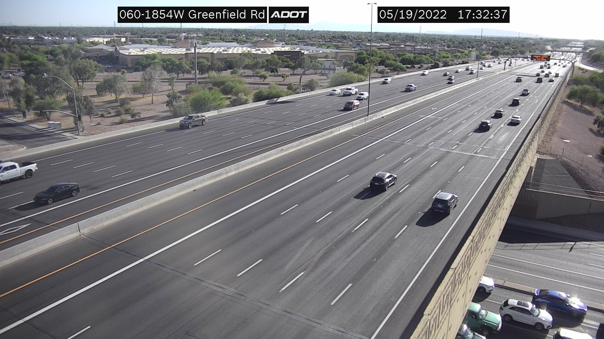 Greenfield WB (US60) (187) - Phoenix and Arizona