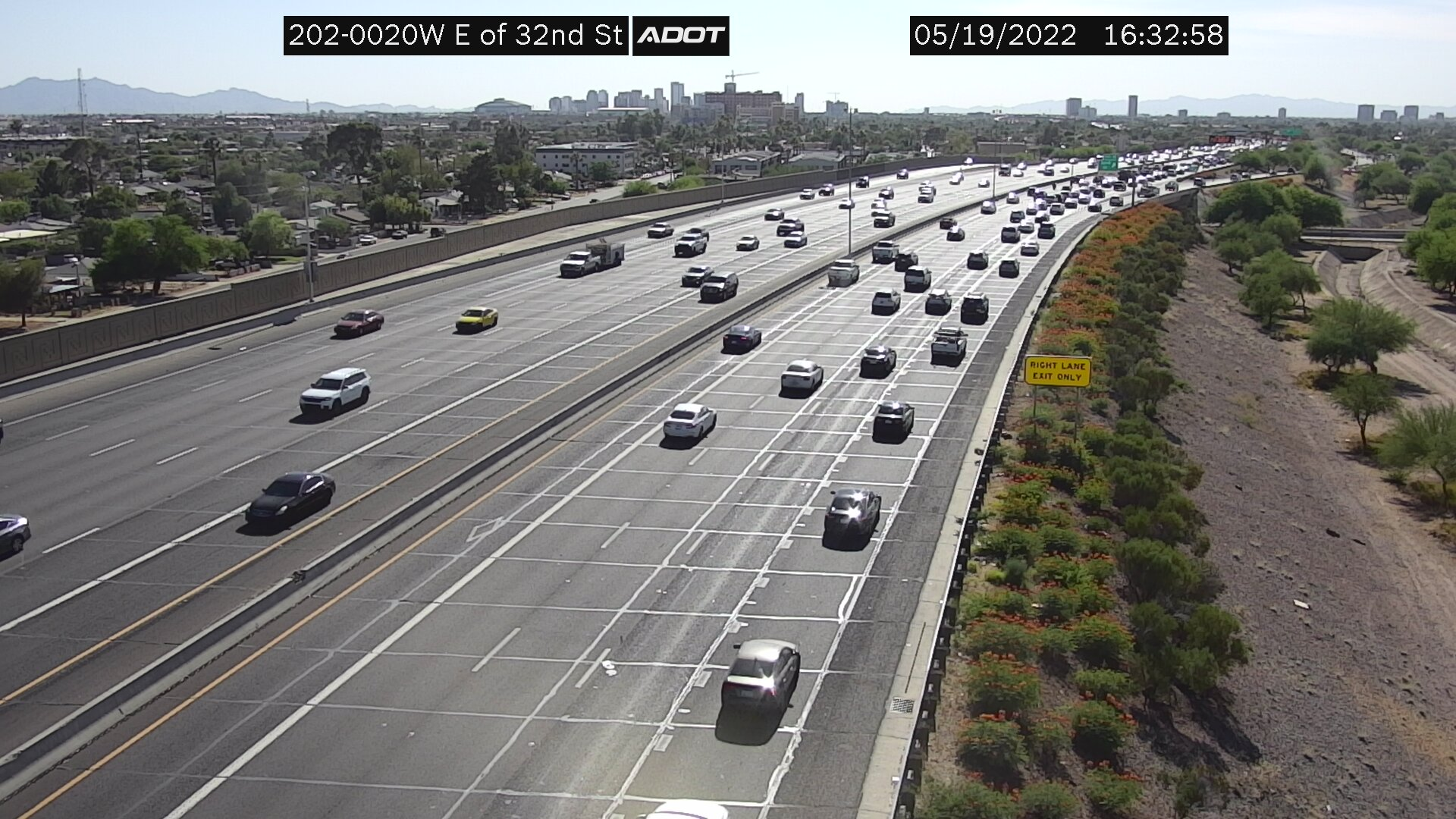 E of 32nd St WB (L202) (201) - USA