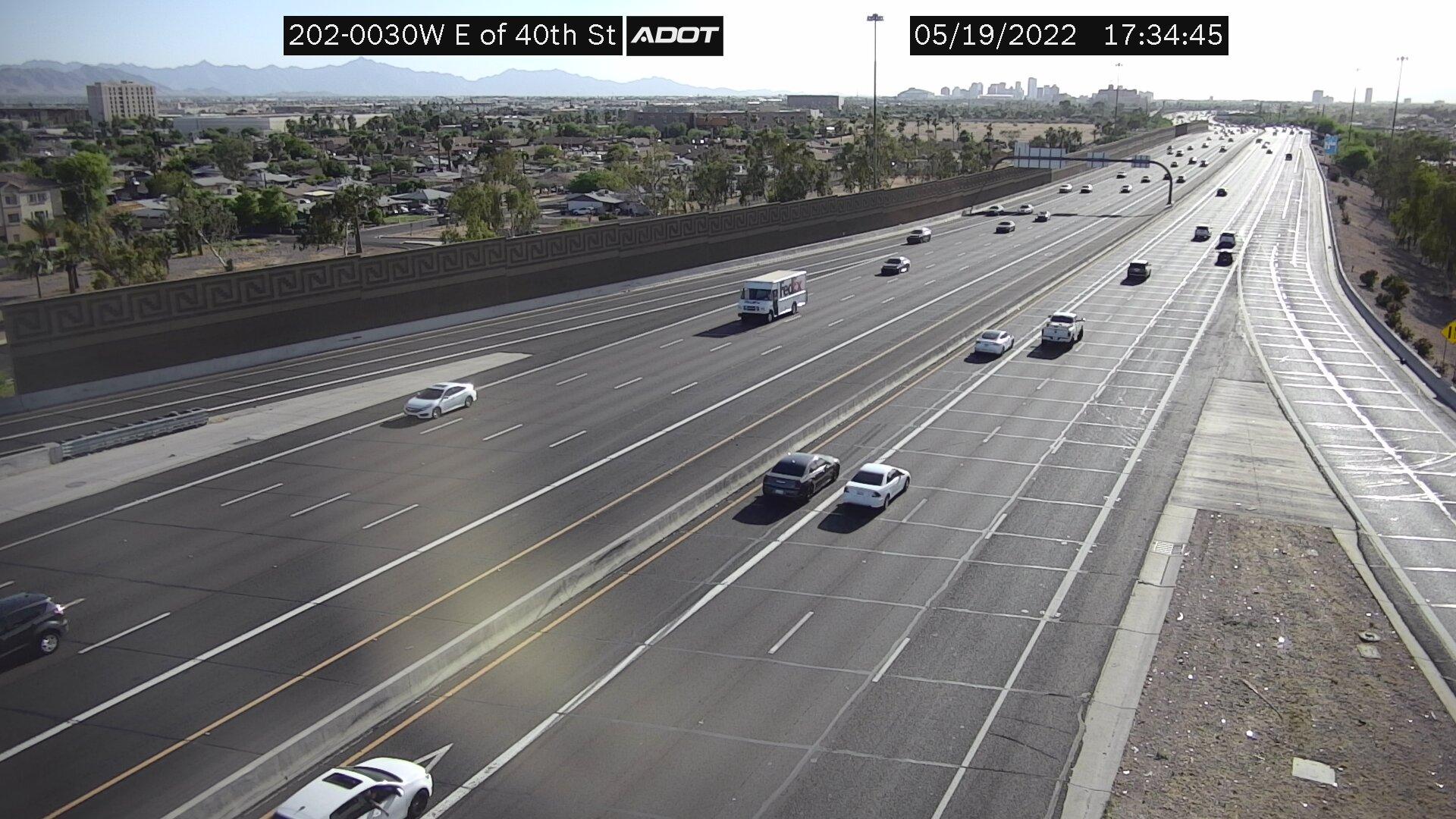 E of 40th St WB (L202) (202) - Phoenix and Arizona