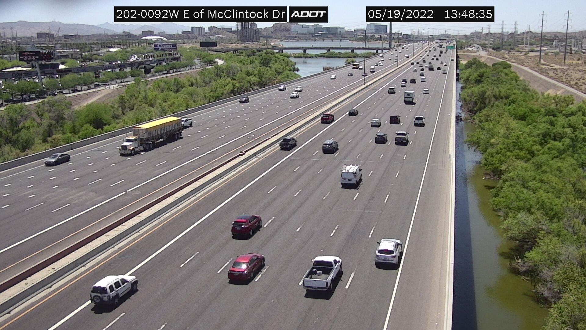 E of McClintock WB (L202) (210) - Phoenix and Arizona