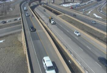 I-76 - I-76  006.95 EB from I-270 - Traffic in lanes closest to camera moving West - (10411) - Denver and Colorado