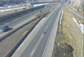 I-76 - I-76 003.20 WB @ US-287 Federal Blvd - Traffic in lnaes closest to camera moving West - (13808) - Denver and Colorado