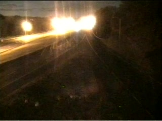CAM 147 Danbury I-84 WB E/O Exit 6 - Rockwell Rd. (Traffic closest to the camera is traveling WEST) - Connecticut