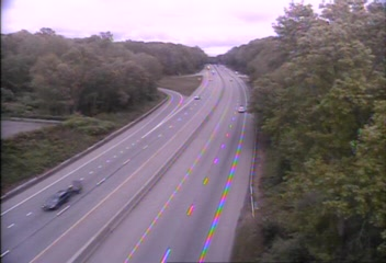 CAM 150 Madison I-95 NB Exit 61 - Rt. 79 (Durham Rd.) (Traffic closest to the camera is traveling NORTH) - USA