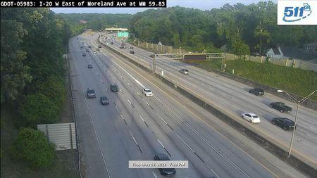 I-475 : MILE POST 1.5 (N) (6003) - Atlanta and Georgia