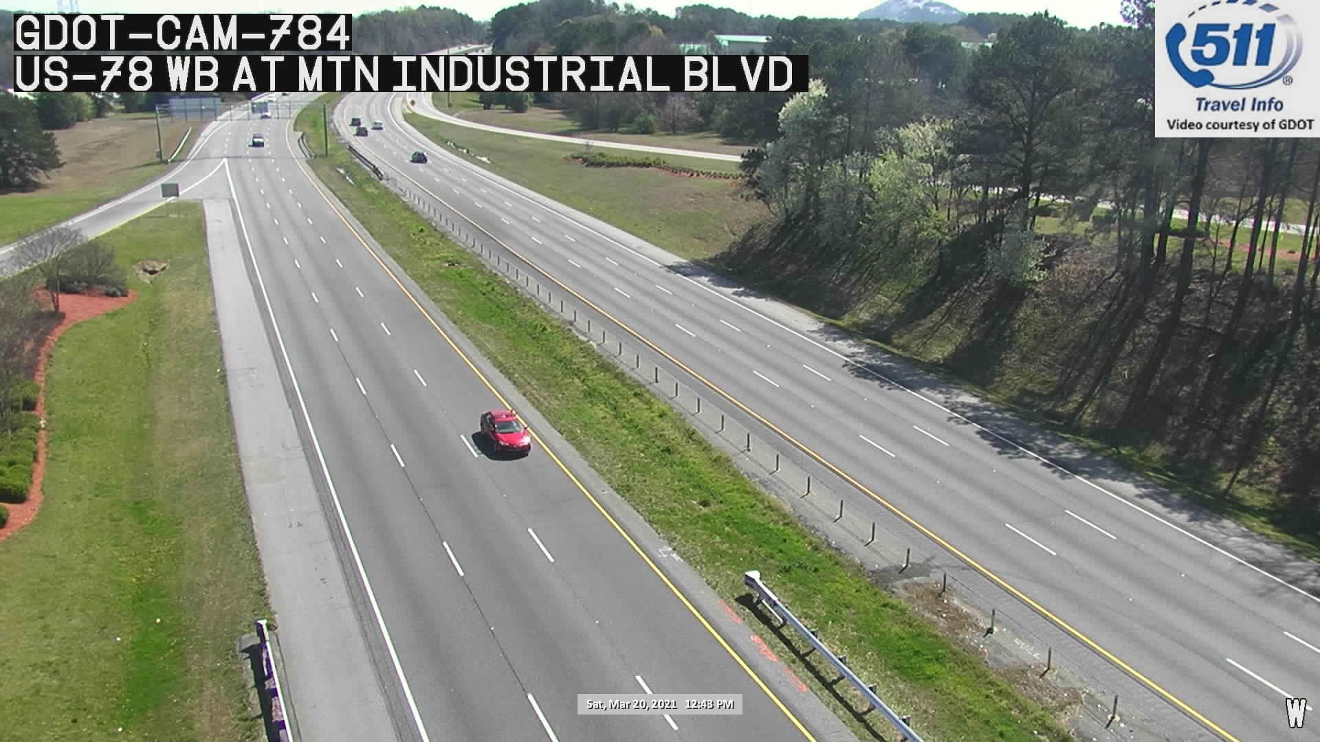 US 78 : MOUNTAIN INDUST BLVD (W) (5310) - Atlanta and Georgia