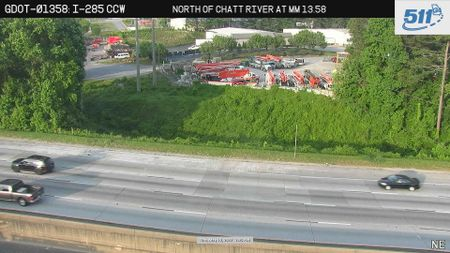 I-85 : Lindbergh Dr (S) (13690) - Atlanta and Georgia