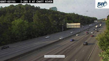I-85 : LAKE HARTWELL/SC LINE (N) (13100) - Atlanta and Georgia