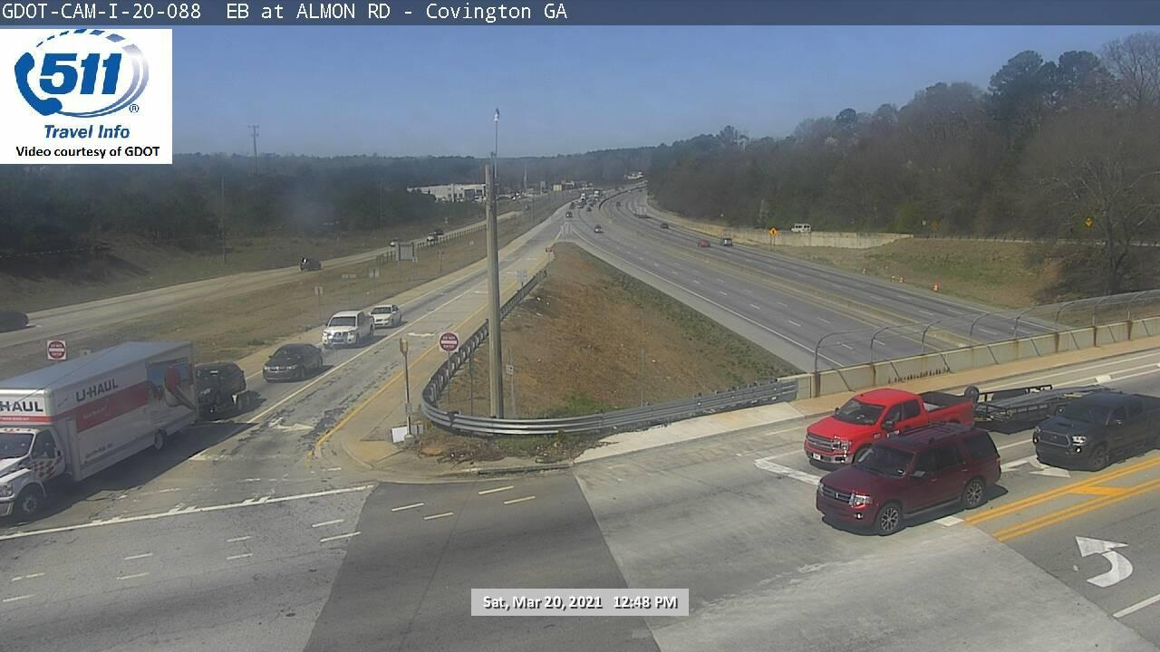 I-20 : ALMON RD (E) (13326) - Atlanta and Georgia
