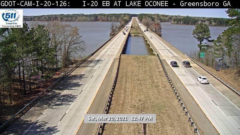I-20 : LAKE OCONEE (E) (13073) - Atlanta and Georgia