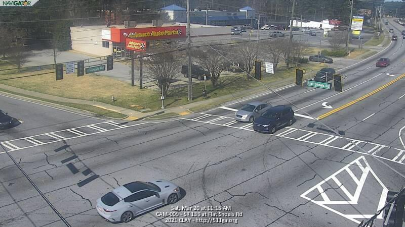 SR 139 : Flat Shoals Rd (N) (10431) - Atlanta and Georgia