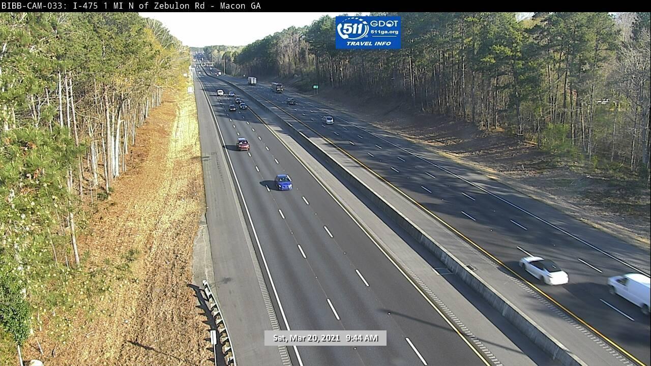 I-475 : 1 MI N OF ZEBULON RD (S) (6029) - Atlanta and Georgia