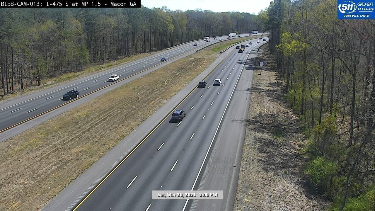 I-475 : MILE POST 1.5 (S) (6004) - Atlanta and Georgia