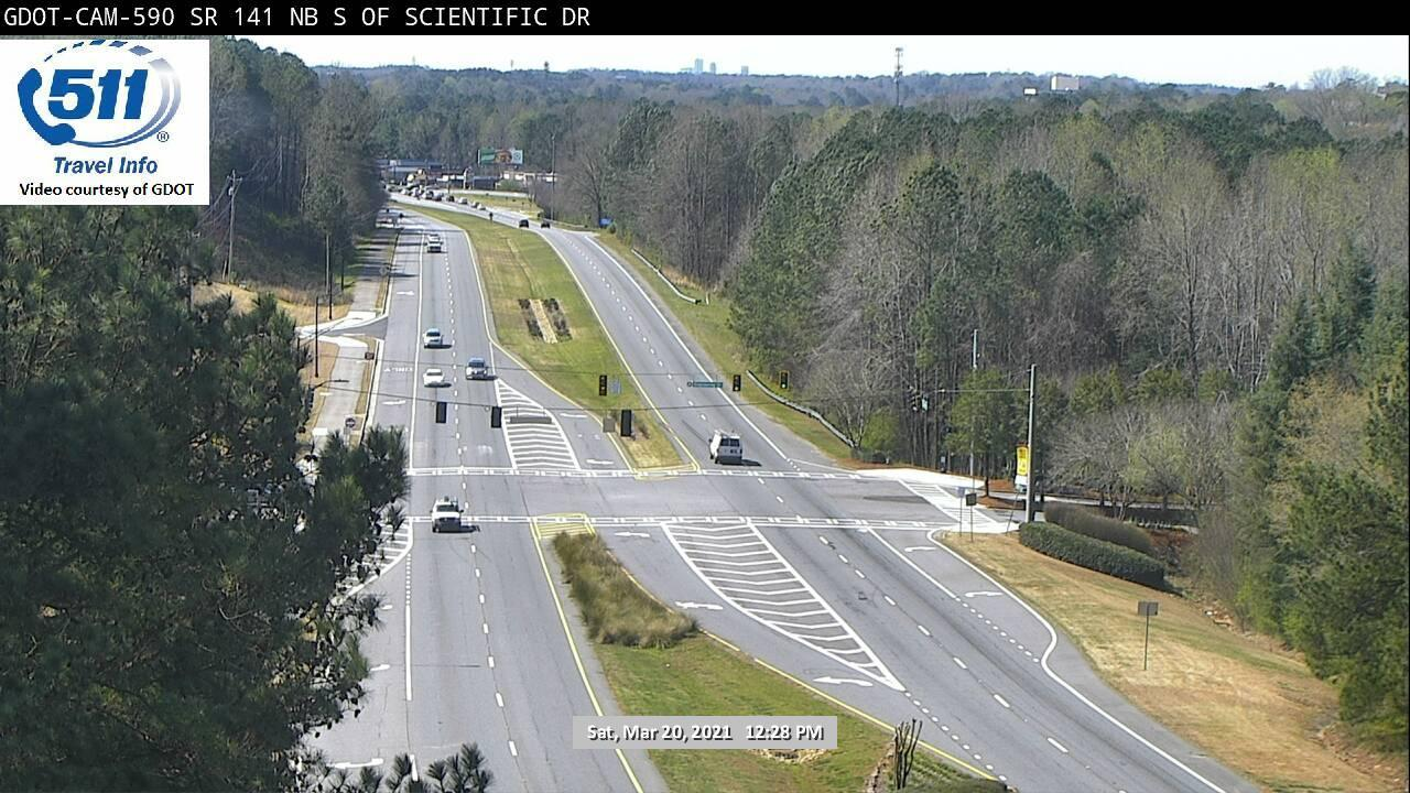 SR 141 : S OF SCIENTIFIC DR (N) (5233) - Atlanta and Georgia