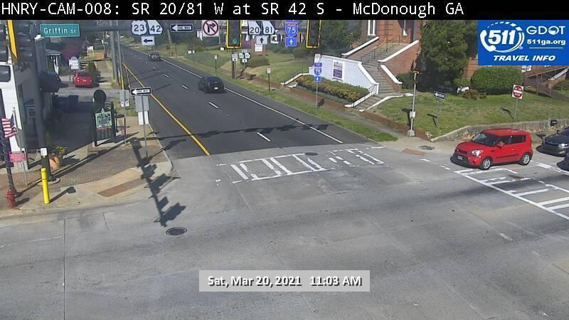 SR 20 : SR 42 SB / Jonesboro Rd (W) (13121) - Atlanta and Georgia