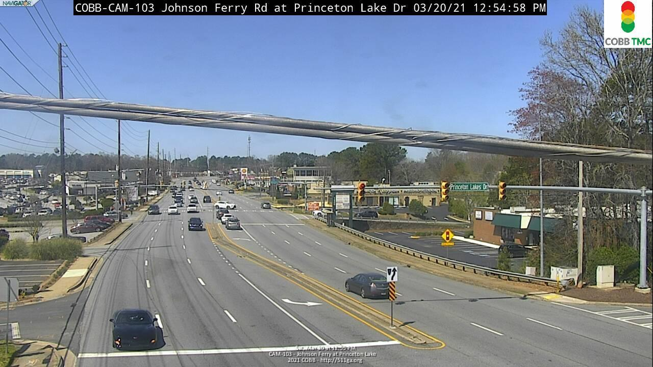 Johnson Ferry Rd : Princeton Lake (E) (7330) - Atlanta and Georgia