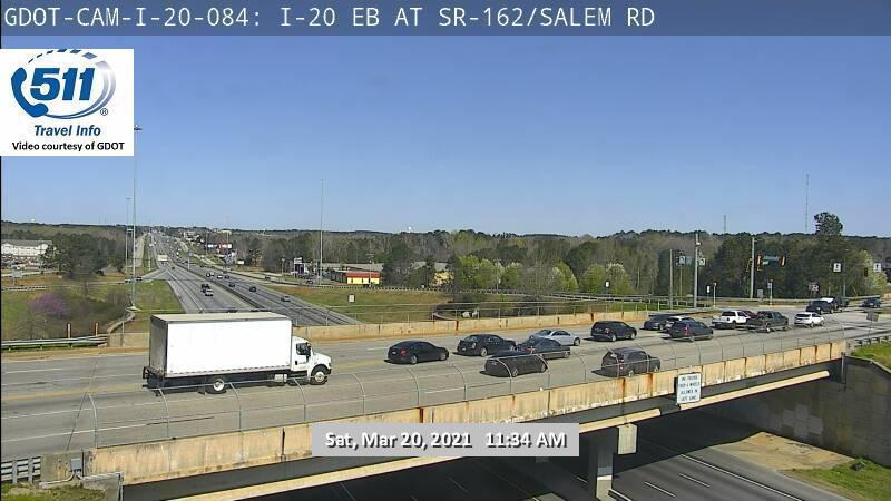 I-20 : SR 162 / Salem Road (E) (13325) - Atlanta and Georgia