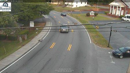 Sandy Plains Rd : Canton Rd Connector (N) (12915) - Atlanta and Georgia
