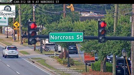 Sandy Plains Rd : Holly Springs Rd (E) (13050) - Atlanta and Georgia