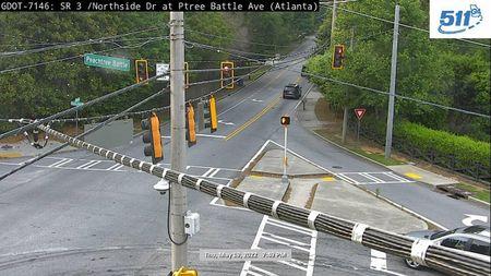 I-95 : Milepost 112 (S) (15231) - Atlanta and Georgia