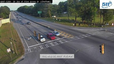 I-20 : East of Mt Vernon Rd (E) (15418) - Atlanta and Georgia