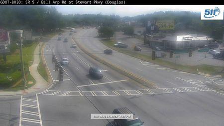 SR 520 : OAKLAND PKWY/N DOUBLEGATE (E) (46357) - Atlanta and Georgia