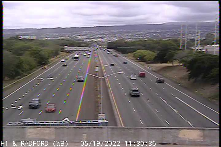 H1 and Radford Dr West BD (90) - Hawaii