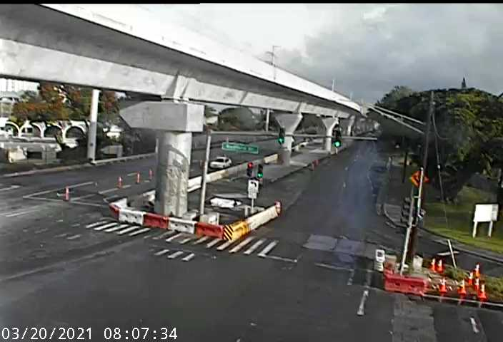 Kam Hwy and Radford Dr (129) - Hawaii