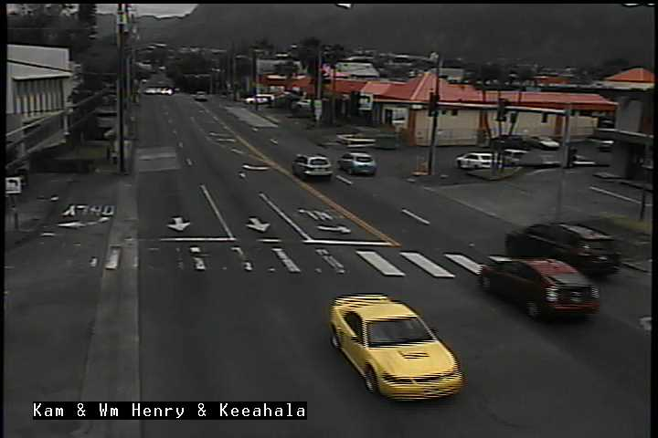 Kam Hwy at William Henry road and Keehala Rd (209) - Hawaii