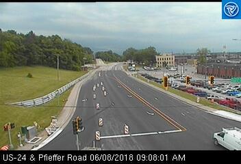 US 24 & Pfeiffer Rd (453) - USA