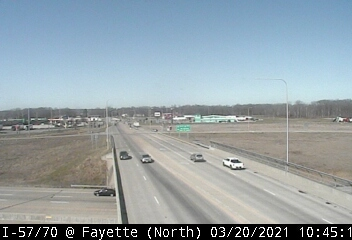 I-57/I-70 at Fayette Street - N - USA