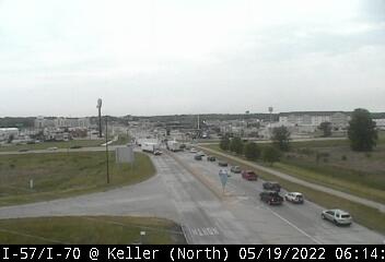 I-57/I-70 at Keller Drive - N - USA