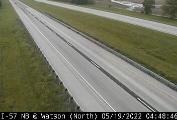I-57 SB at Watson - N - USA