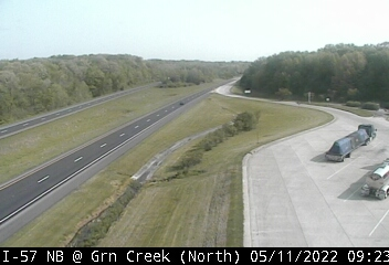 I-57 NB at Green Creek Rest Area - N - USA