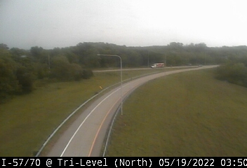 I-57/I-70 at South Tri-Level - N - USA