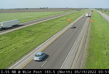 I-55 NB at Mile Post 183.5 - N - Chicago and Illinois