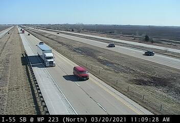 I-55 SB at Mile Post 223.0 - N - Chicago and Illinois